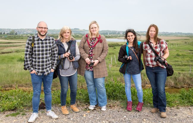 Strong Island Photography Walkshop - Farlington Marshes