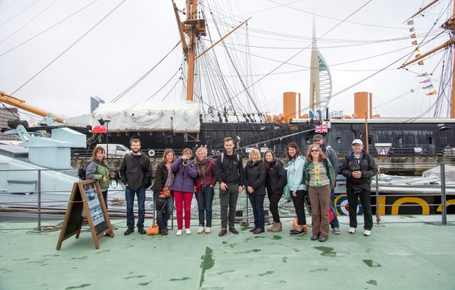 Photos From The Explosion Museum Photo Walkshop with Portsmouth Historic Dockyard