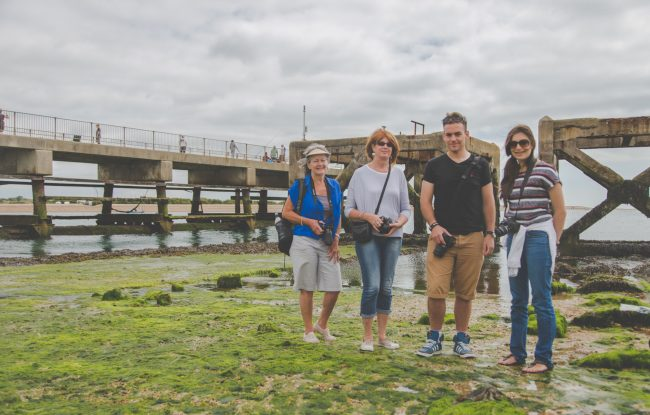 Strong Island Photography Walkshop - Eastney Fort Beach