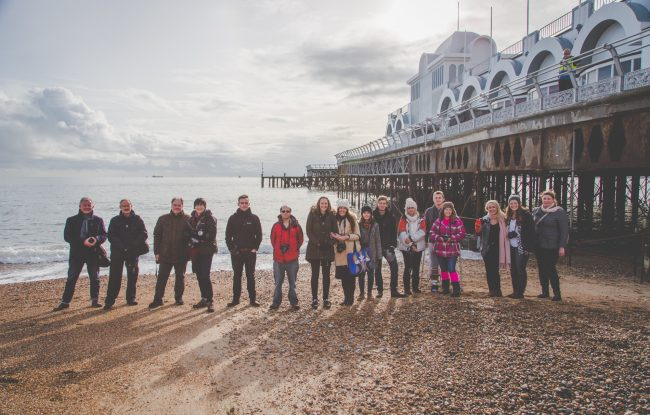 Strong Island Photography Walkshop - Southsea in Winter