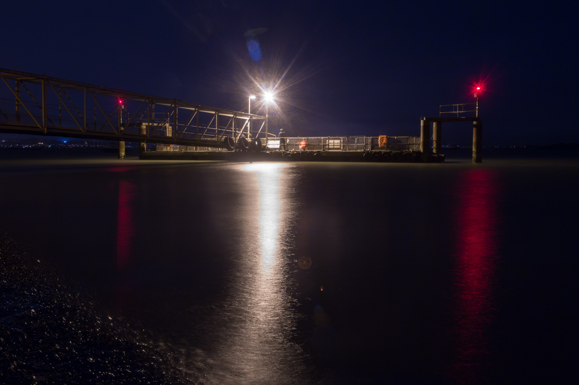 Eastney at Night
