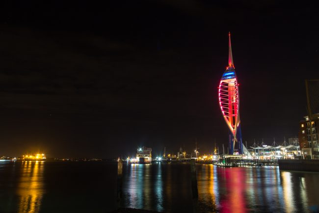 Strong Island Photo Walkshop - Old Portsmouth at Night