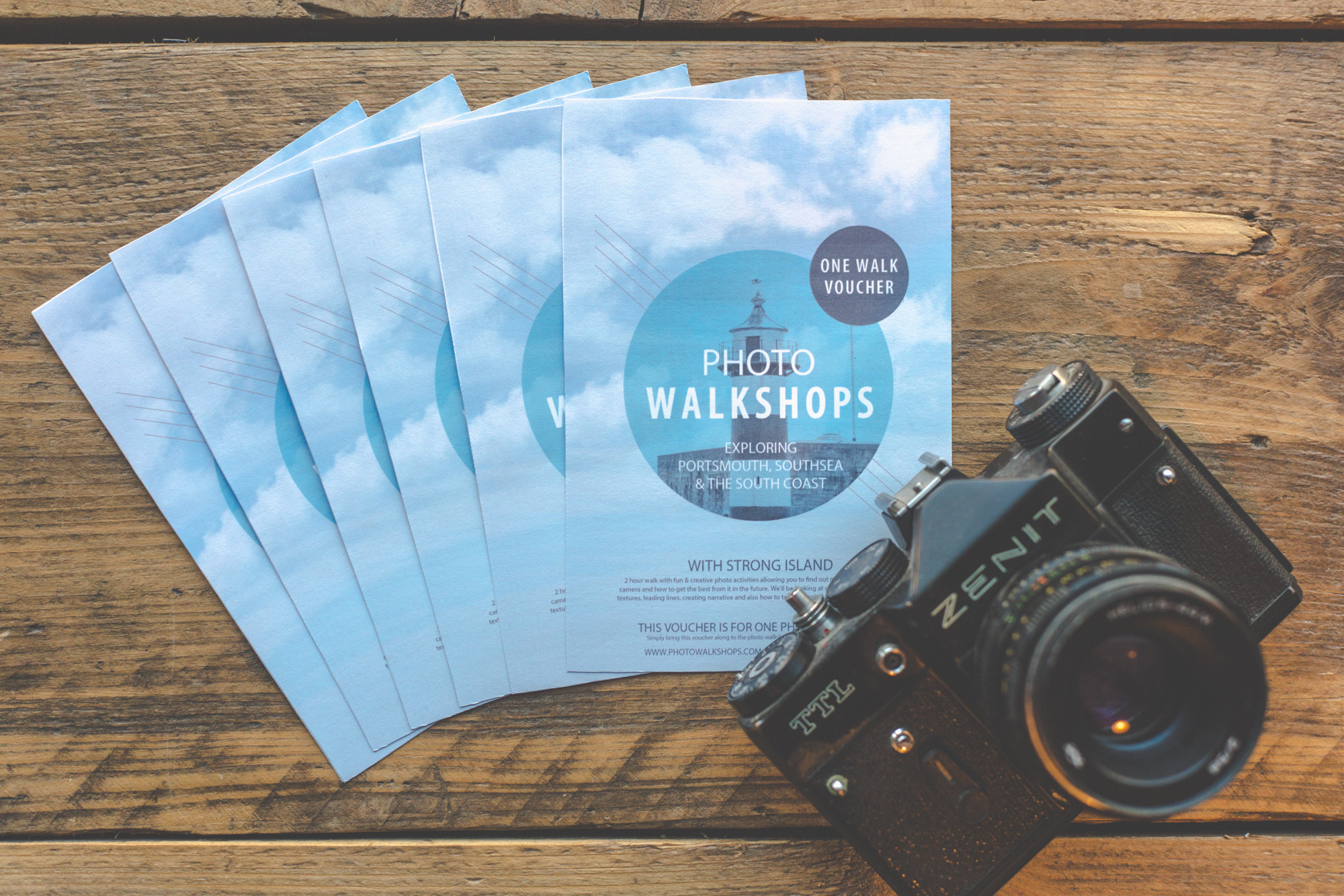 Photo Walkshop Vouchers
