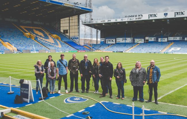 Photography Walkshop - Fratton Park