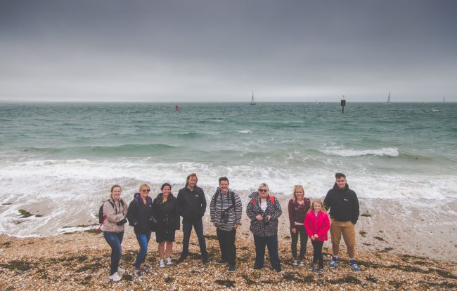 Strong Island Photography Walkshop - Hayling With Models